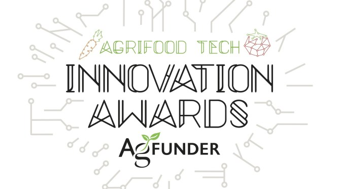 WeedOUT nominated at Agfunder Innovation Awards